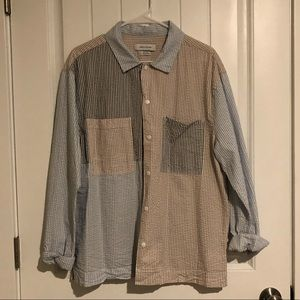 Urban Outfitters Colorblock Over Shirt